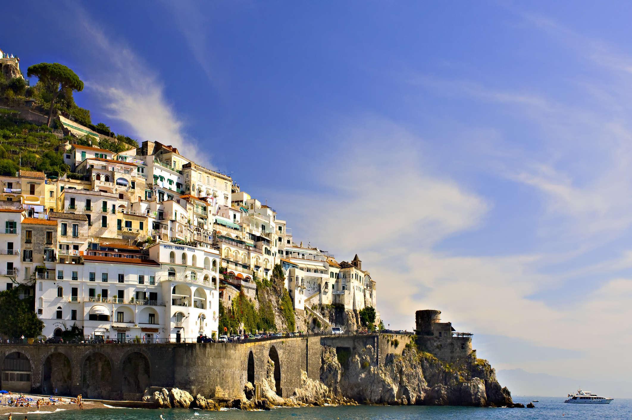 6 giorno: Ravello - Amalfi - Positano - Napoli