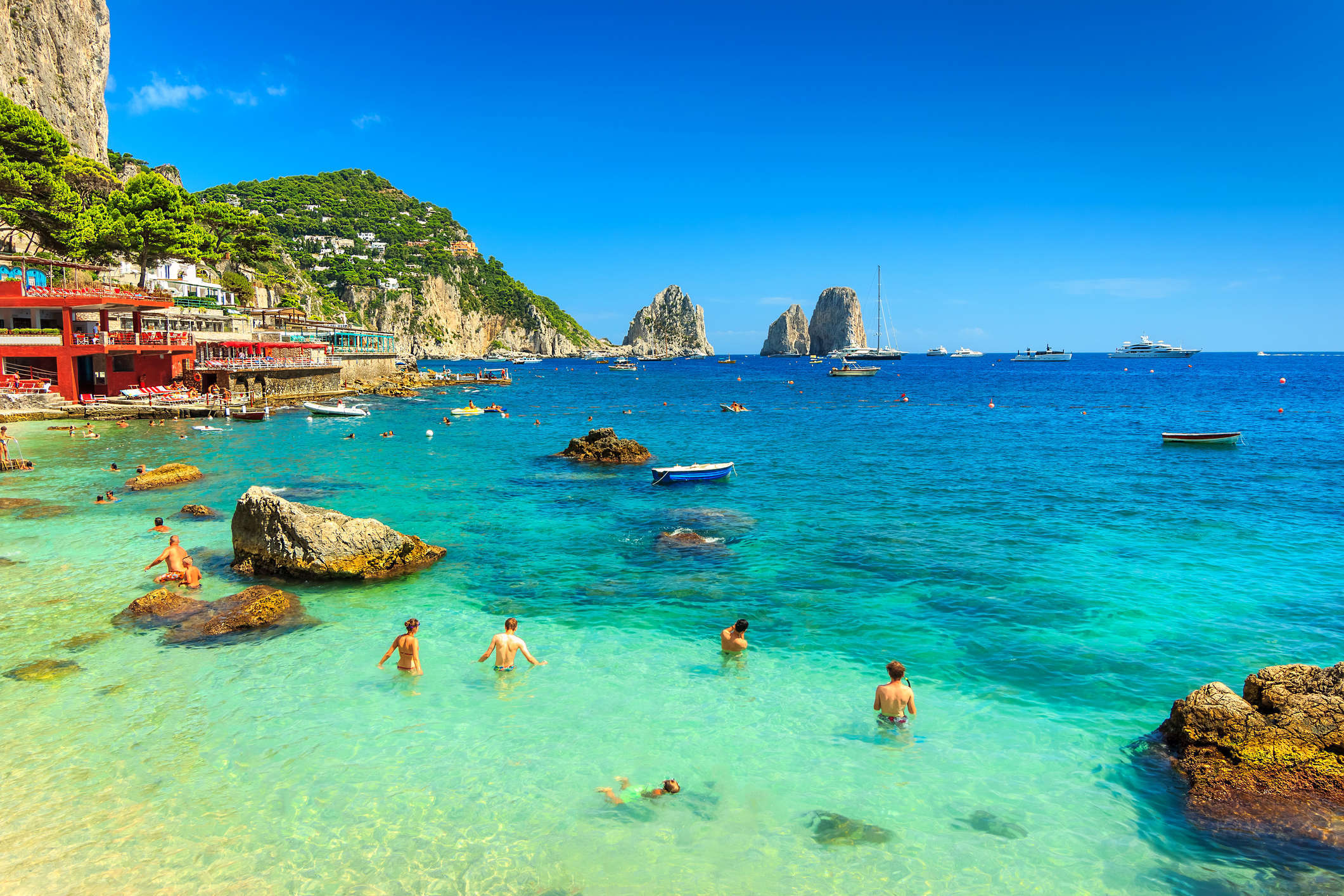 5° giorno:  Capri