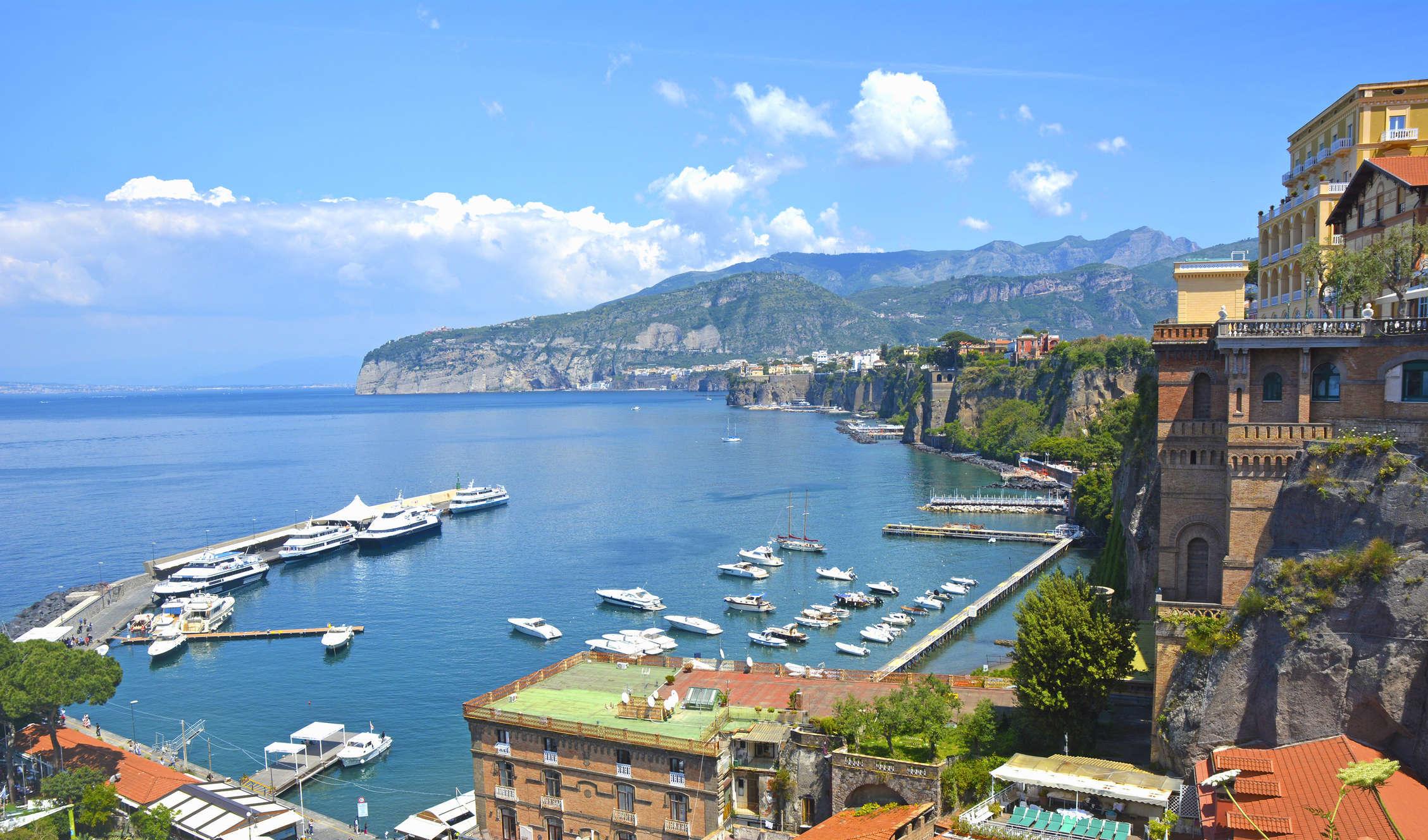 6° giorno: Costiera Amalfitana - Sorrento