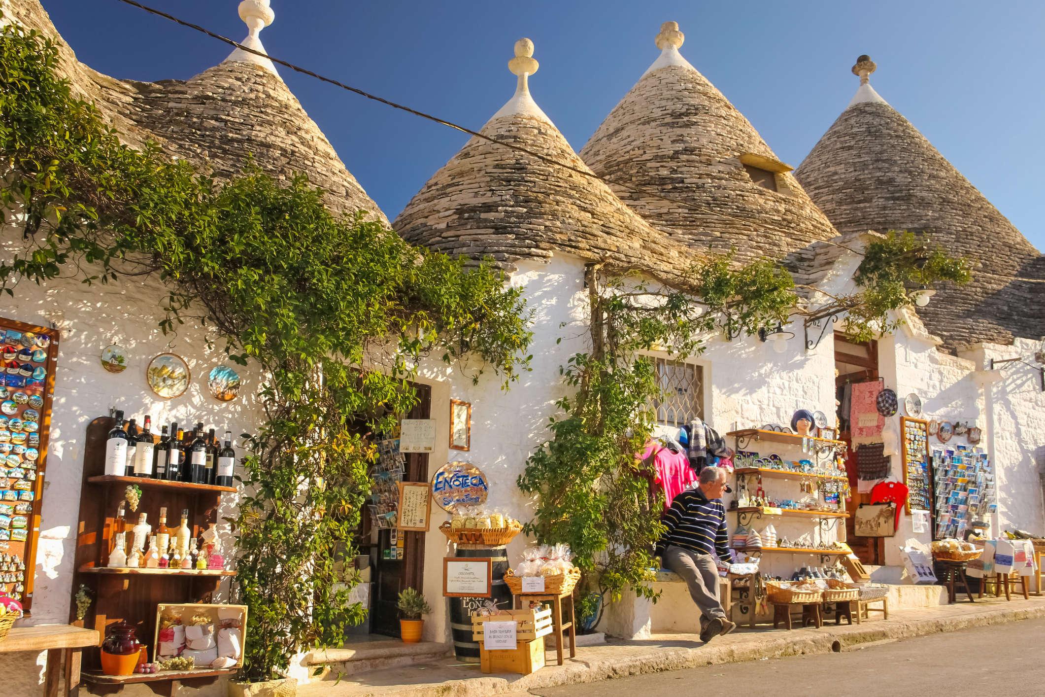 1° giorno: Bari - Alberobello